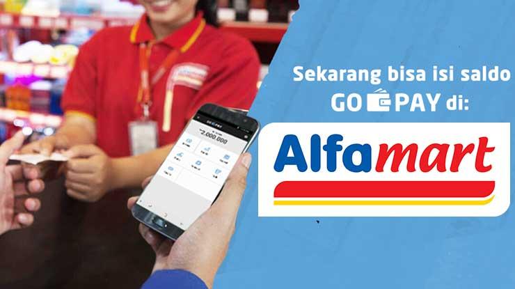 Biaya Admin Isi GoPay di Alfamart
