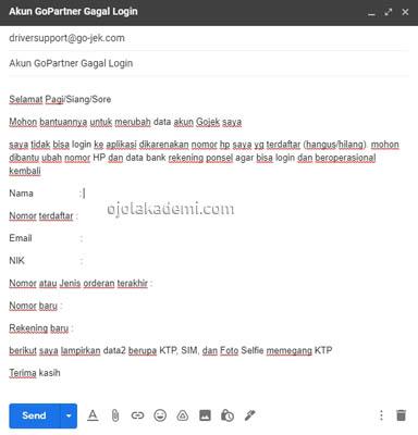 Cara Mengatasi Lupa Login GoPartner