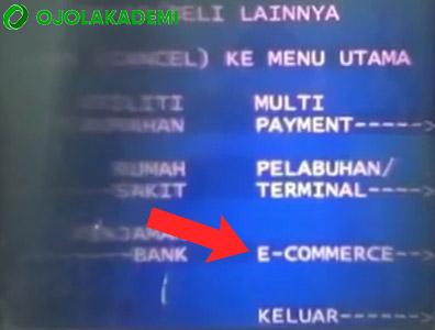 Cara Mengisi Gopay di ATM Mandiri