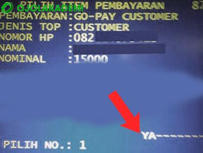 Cara Mengisi Gopay melalui ATM Mandiri