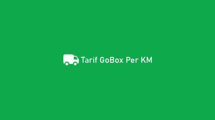Tarif GoBox Per KM