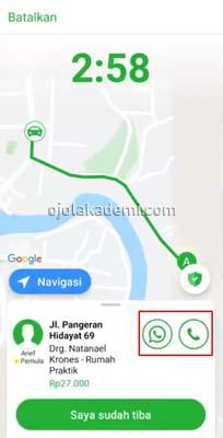 cara mengambil orderan indriver
