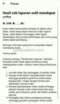 cara setting HP Gojek biar order masuk terus