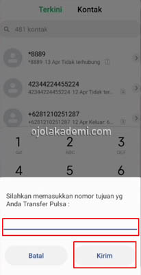 nomor transfer