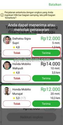 penawaran driver
