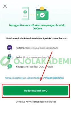 8 Tap Update Dulu di OVO