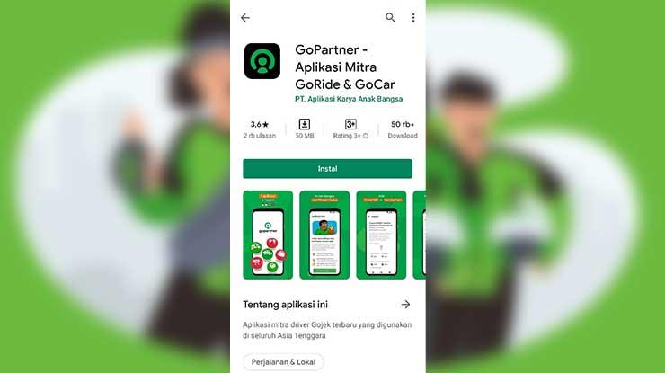 Install GoPartner terbaru