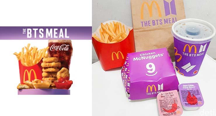 harga menu bts meal mcd