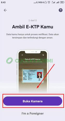 4 Upload Foto KTP atau Pasport