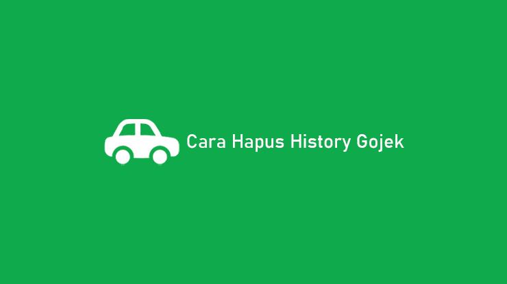 Cara Hapus History Gojek