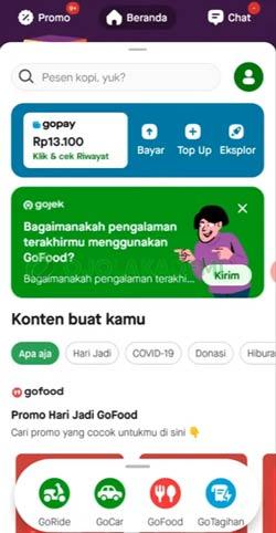 1 Buka Aplikasi Gojek 4