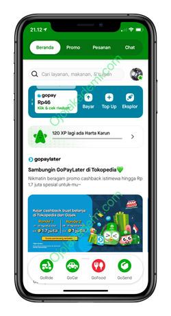 1 Buka Aplikasi Gojek 5