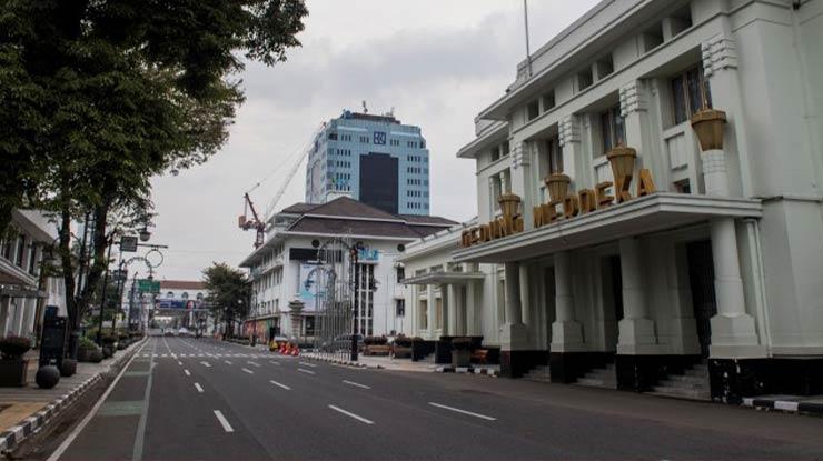 1 Pusat keramaian Kota