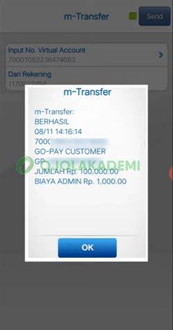 14 Cara Top Up Gopay Lewat M Banking BCA