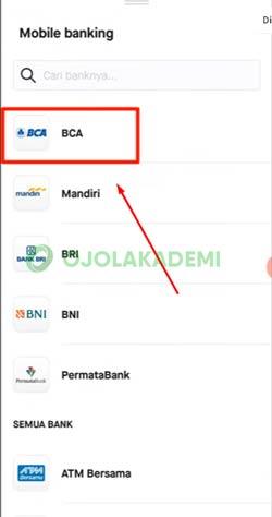 5 Pilih Bank BCA
