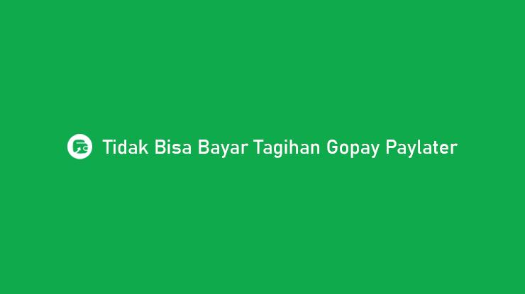 Tidak Bisa Bayar Tagihan Gopay Paylater