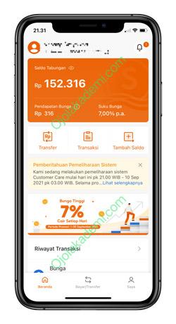 1 Buka Aplikasi SeaBank