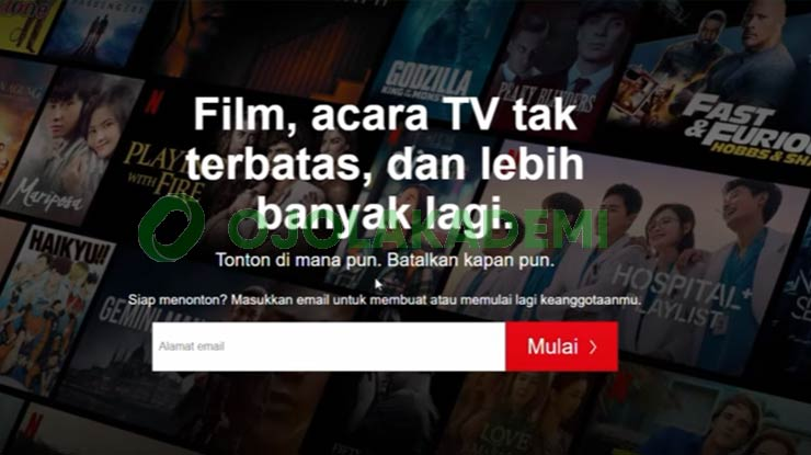 1 Buka Website Netflix