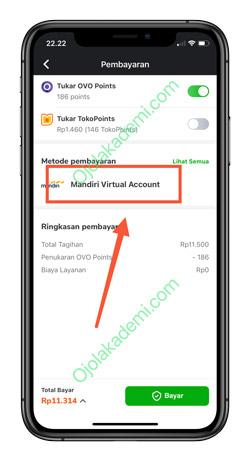 4 Pilih Virtual Account